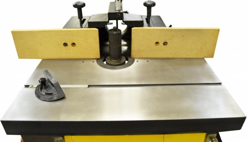 Для обработки заготовок большой высоты необходимо использовать усиленный шпиндель
