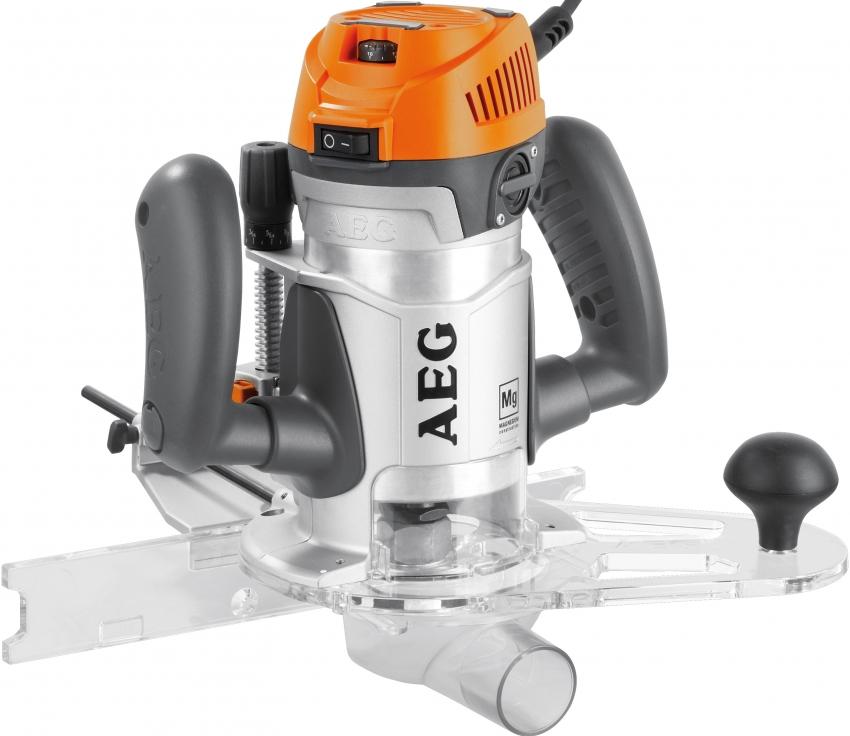 Модель ручного фрезера по дереву MF 1400 КЕ 411850 от немецкой компании AEG