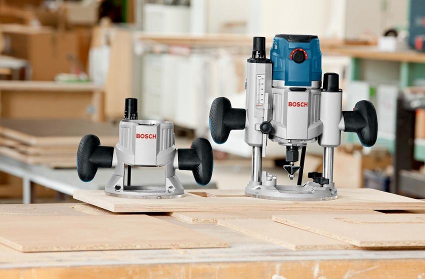Лидер рейтинга ручных фрезеров по дереву Bosch GMF 1600 CE