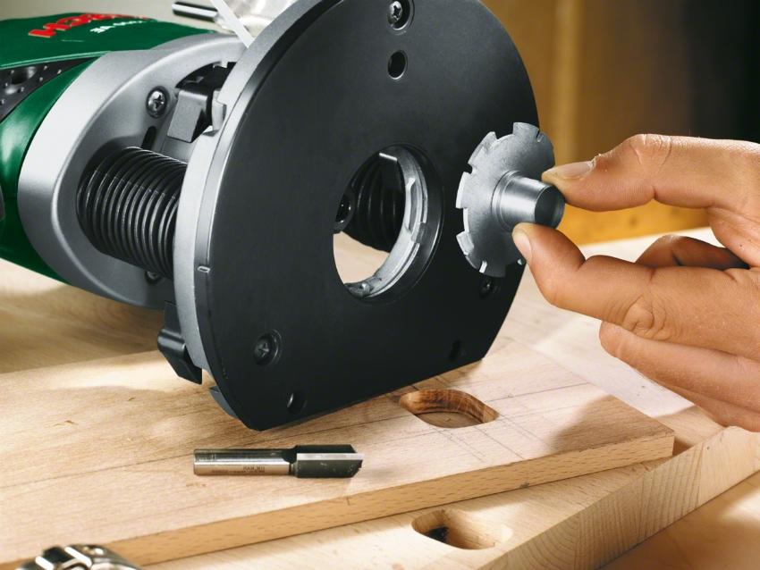 Фреза для ручного фрезера выбирается исходя из вида обрабатываемого материала и типа операции