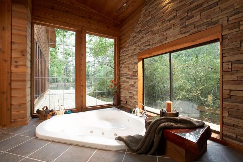 При выборе крупногабаритной ванны стоит учитывать, что набор воды займет немалое количество времени