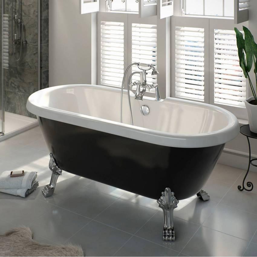 Приобретая большую ванну из чугуна, следует соотнести ее вес с несущей способностью перекрытий здания