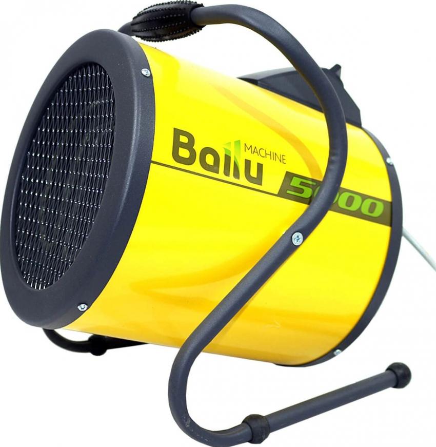Тепловую пушка Ballu BHP-P-5 можно использовать для просушки воздуха в помещении, например во время ремонта