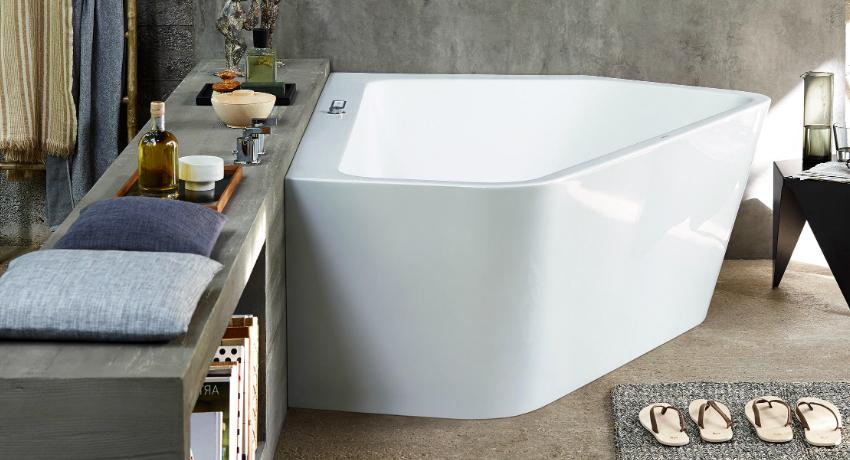 Угловая ванна: размеры, цены и формы популярных моделей