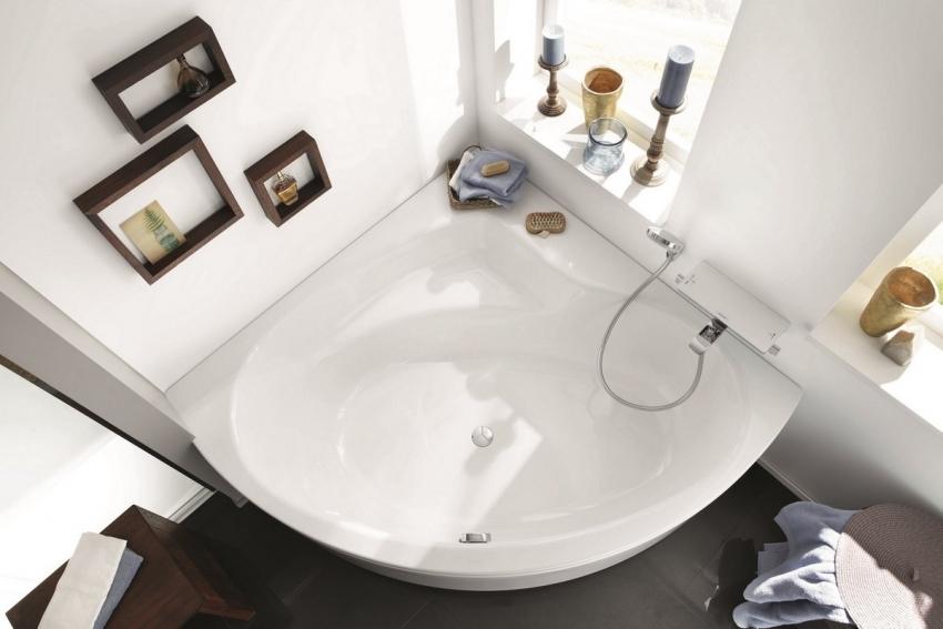 Модель стальной ванны с эмалированным покрытием KALDEWEI Punta Duo