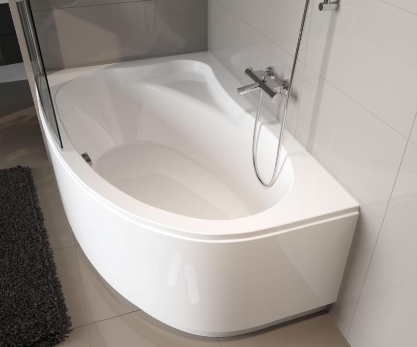 Угловые ванны серии Riho Lyra изготовлены с использованием современных технологий, лучших материалов и инновационных методов
