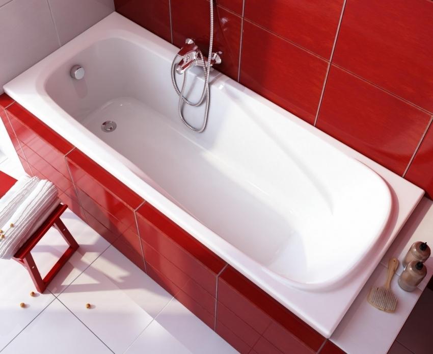 Стальную ванну всегда можно обновить с помощью акрилового вкладыша