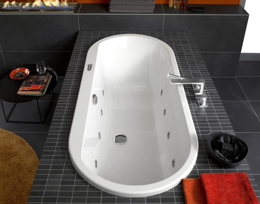 Квариловые ванны могут быть оснащены дополнительными функциями гидромассажа, но такие модели стоят значительно дороже обычных
