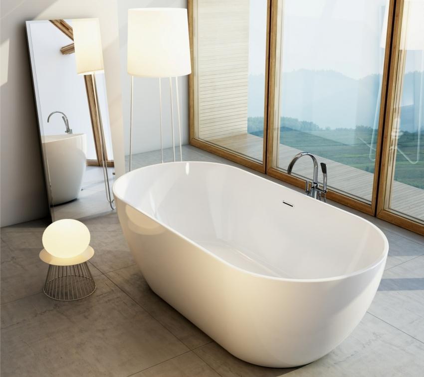 Квариловые ванны, также как и акриловые аналоги, представлены в большом ассортименте форм и размеров