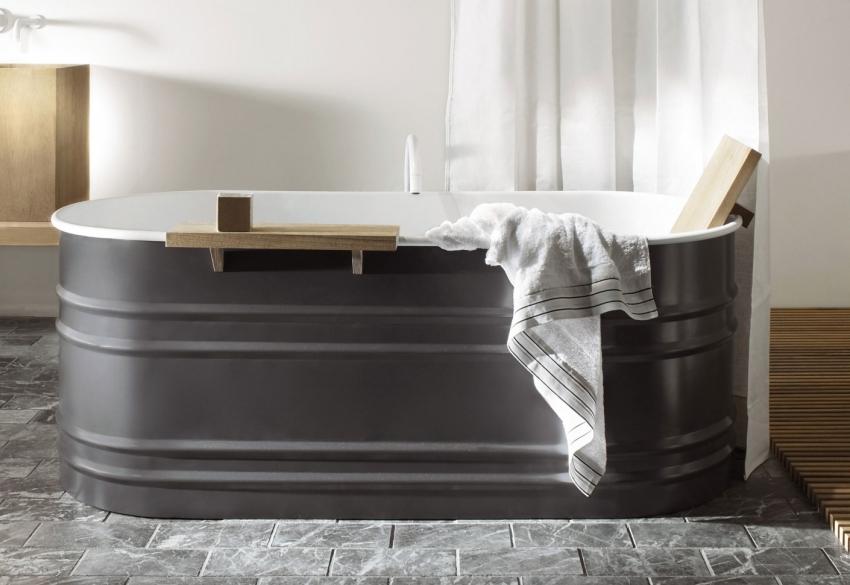 Современная ванна в стиле модерн