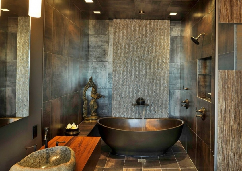 При покупке ванны, в комплект входят все необходимые крепления, шланги и даже краны с душем
