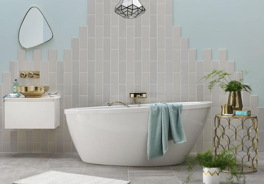 Акриловые белые ванны считаются самыми популярными моделями для обустройства интерьера в современном стиле