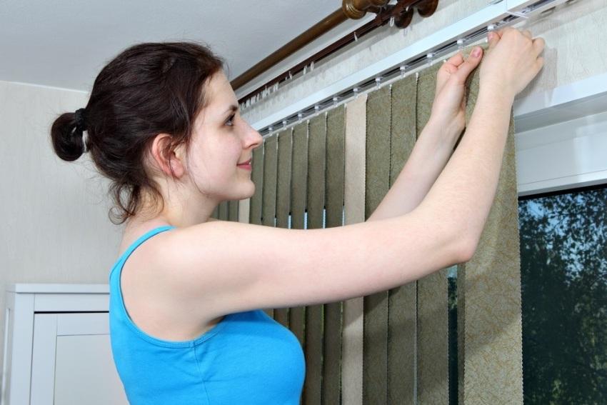 Тканевые ламели для окон можно изготовить своими руками