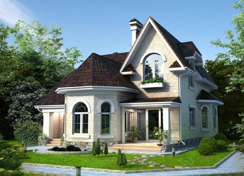 In Such Projects The Two Y Houses Provides Location Of Bay Window Is Traditionally On Ground Floor Or Attic Which Often