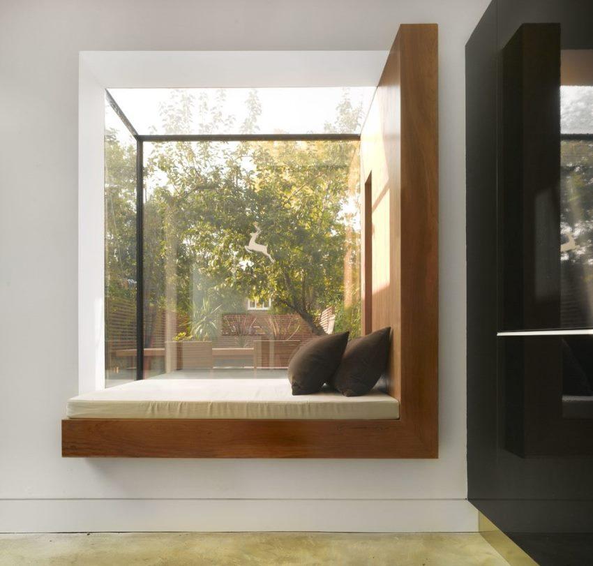 Эркерное окно легко становится самым любимым местом во всем доме