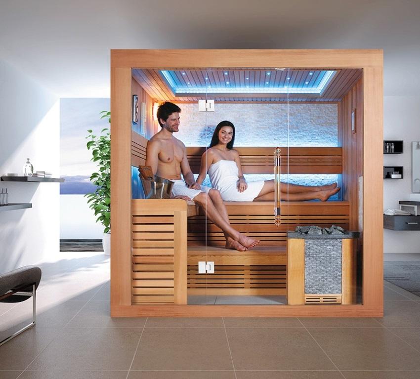 Самый популярный материал для изготовления кабинок инфракрасных саун - натуральная древесина