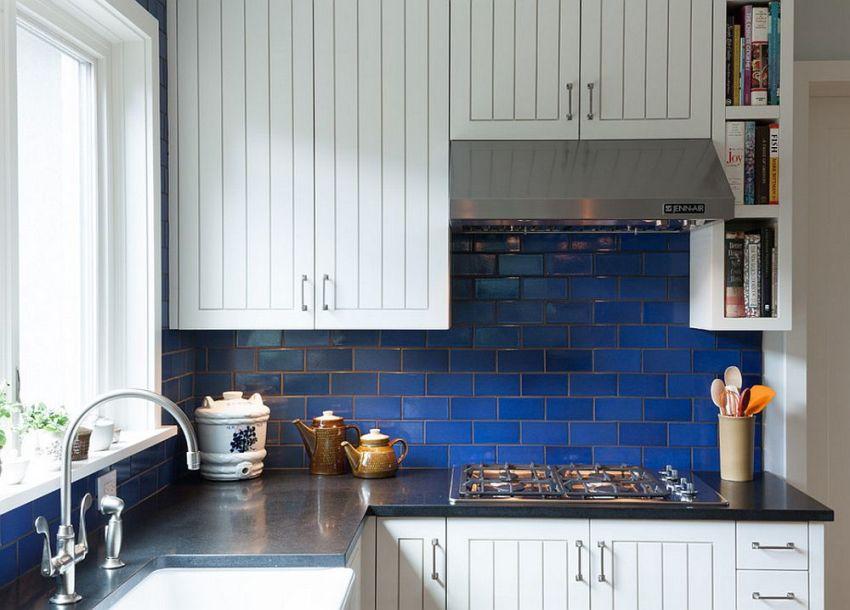 Керамическая плитка - классический вариант для оформления кухни