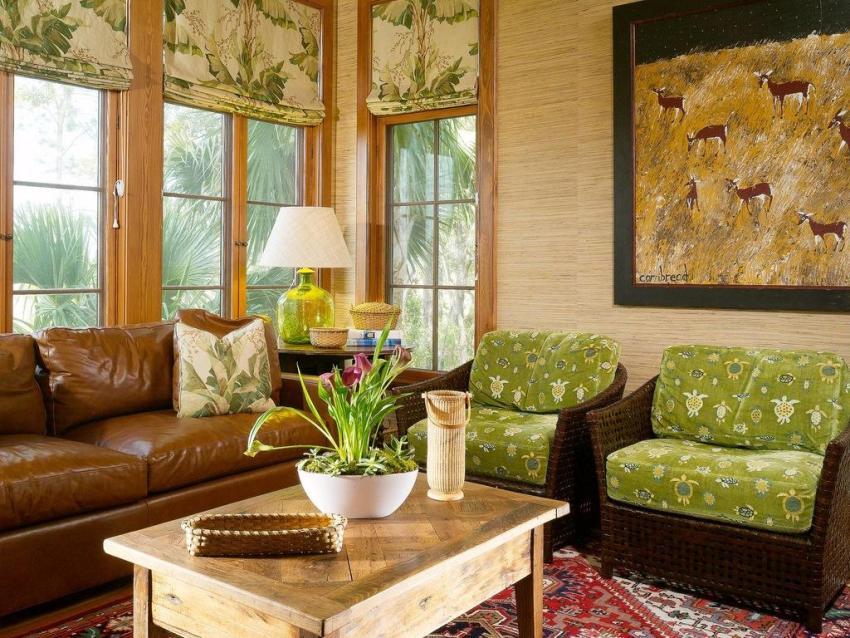 Современные дизайнеры предпочитают использовать бамбук из-за его уникальных декоративных свойств, позволяющих внести в интерьер домашний уютом и традиционную простоту