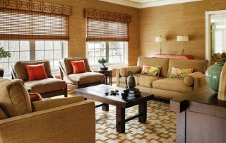 Бамбуковые обои для стен: общие характеристики и правила поклейки