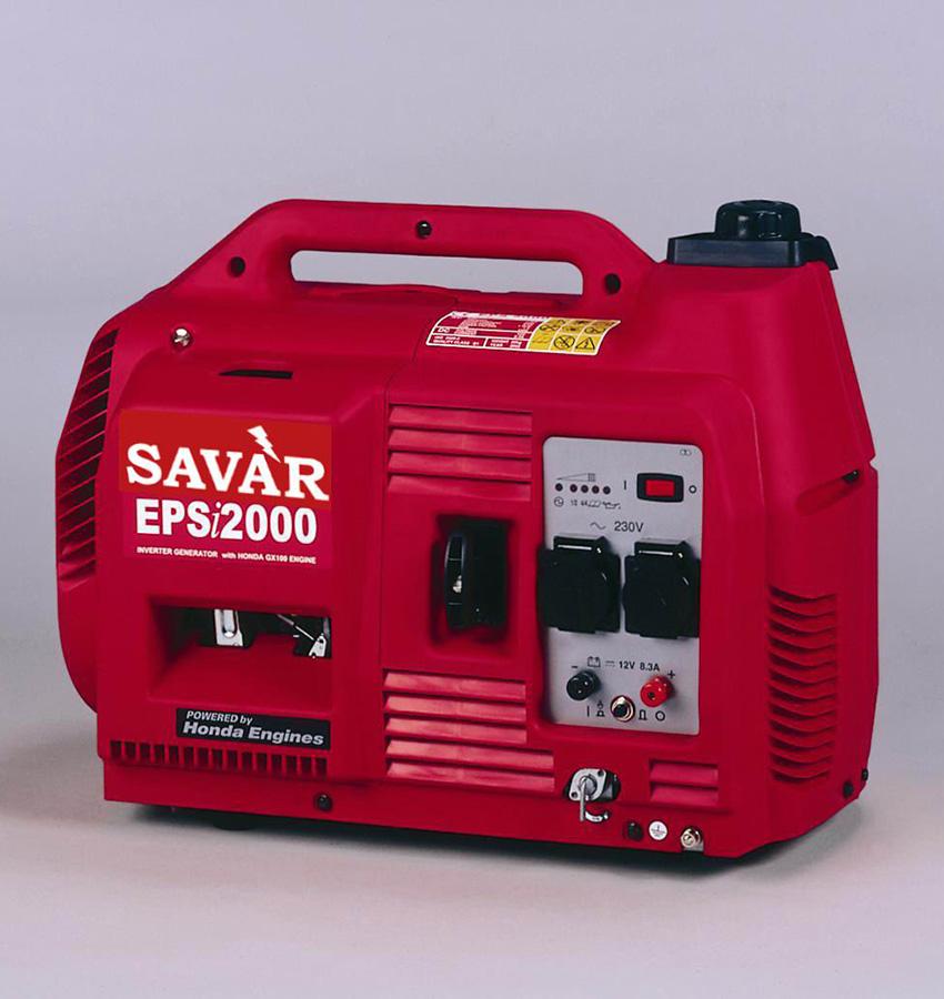 Компактный бензогенератор SAVAR на 2 кВт