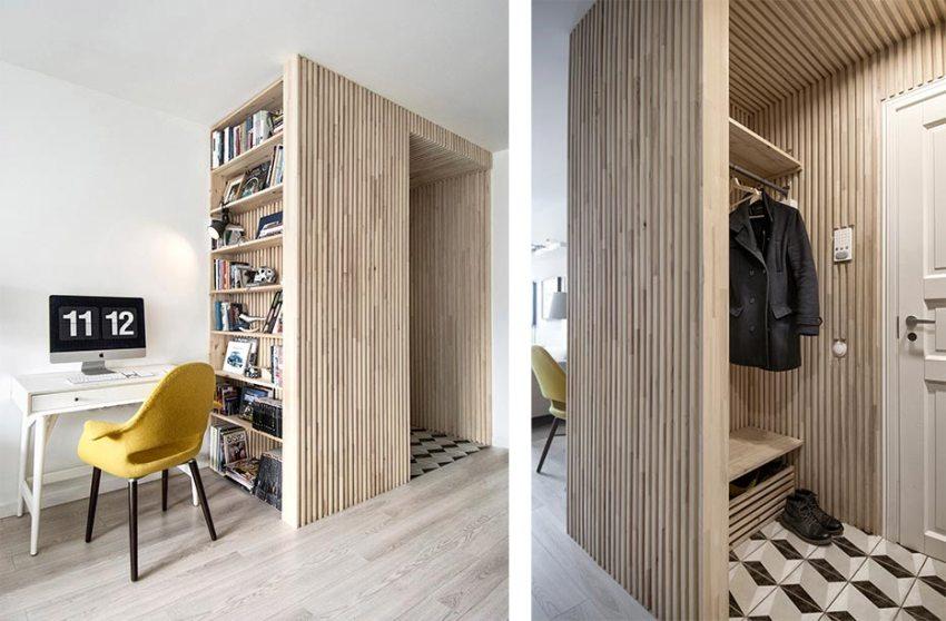 Специалисты не рекомендуют экспериментировать со смешением стилей в таком скромном по размерам помещении, как прихожая