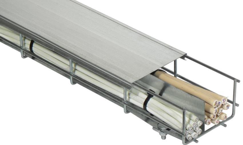 Металлические короба наиболее подходящий вариант для помещений с высоким уровнем пожароопасности