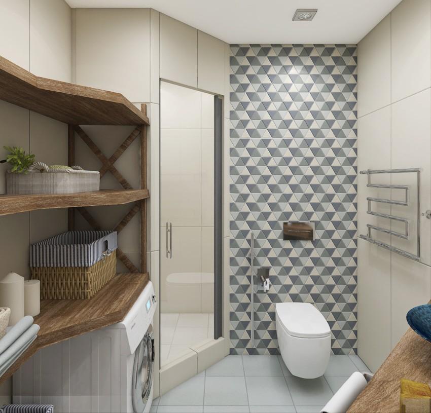 Подвесной унитаз благодаря своим конструктивным особенностям зрительно расширяет пространство и облегчает уход за помещением
