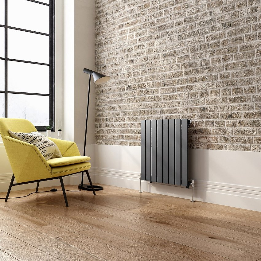 Алюминиевые радиаторы, аккуратные и стильные, состоят из нескольких секций, соединенных ниппелями