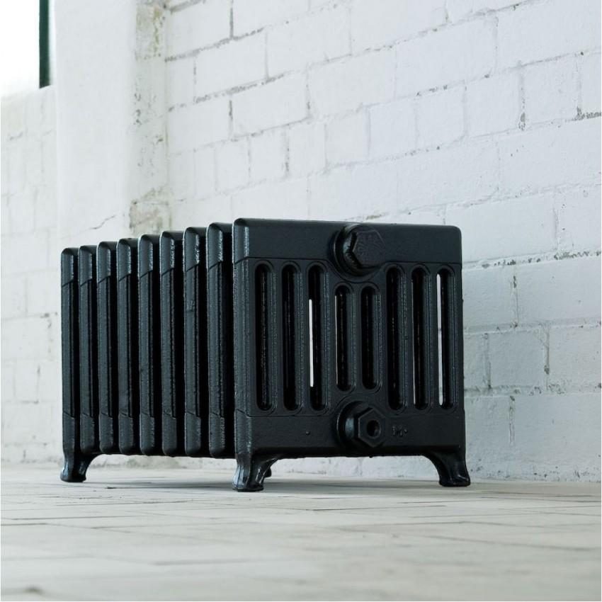 Способность выдерживать большое давление и гидроудары, является положительной характеристикой чугунных радиаторов