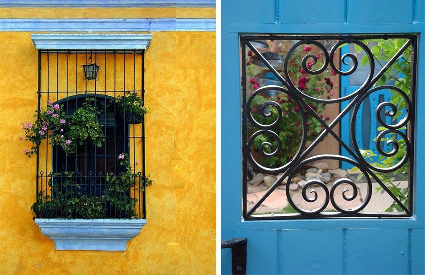 Решетки на окна внутреннего и наружного крепления