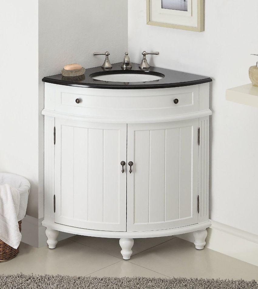 Для максимальной экономии пространства в ванной комнате устанавливают угловые конструкции, которые выглядят достаточно стильно и оригинально