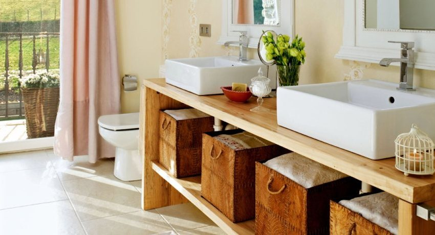 Раковина с тумбой в ванную комнату: удобный и функциональный элемент помещения