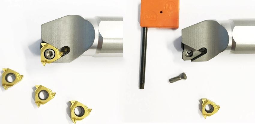 Внутренний резьбовой резец предназначен для нарезания резьбы в металлоизделиях на универсальных токарных станках и станках с ЧПУ