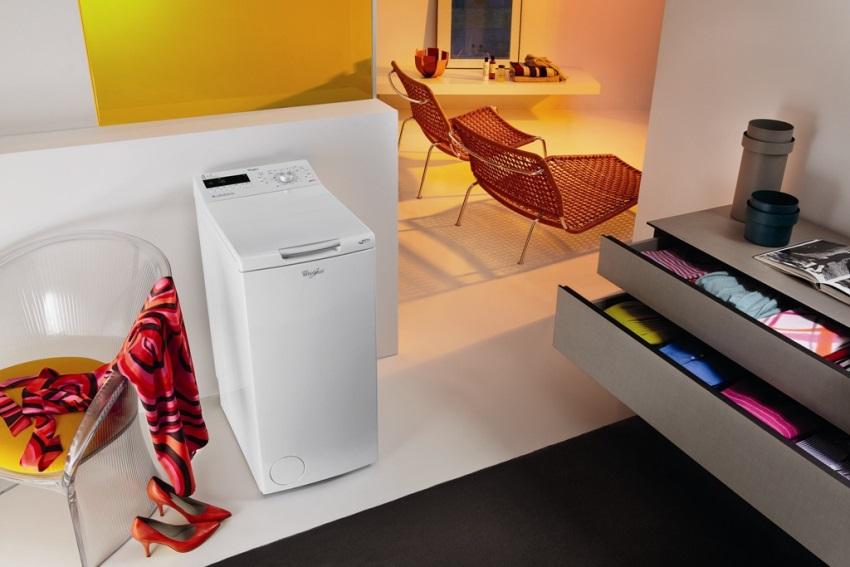 Компактные размеры машин с вертикальной загрузкой позволяют разместить практически в любом помещении