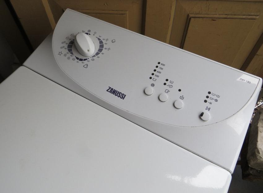 Компания Zanussi впускает широкий ассортиментный ряд стиральных машин с вертикальной загрузкой