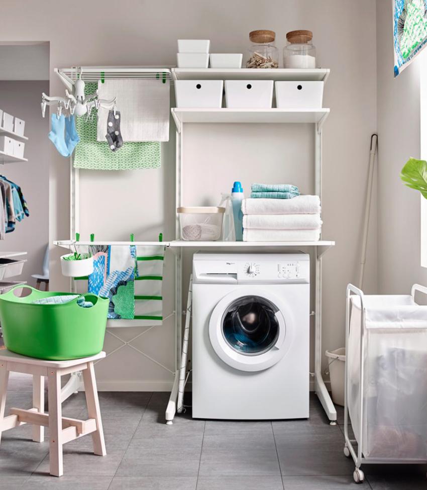 Некоторые модели стиральных машин могут быть очень компактными