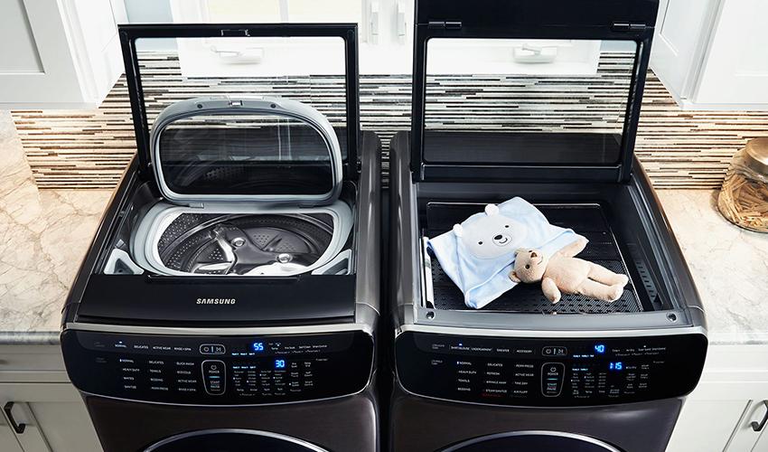 Стильные стиральные машины Samsung