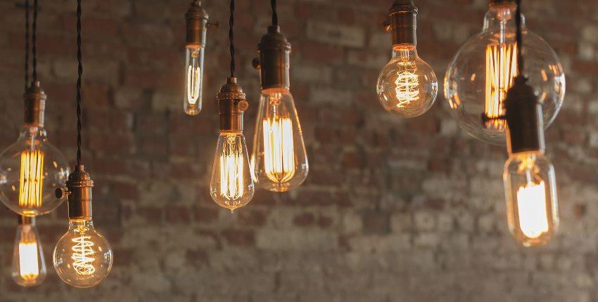 Использование диммированых ламп позволяет создать интересные оптические эффекты в помещении