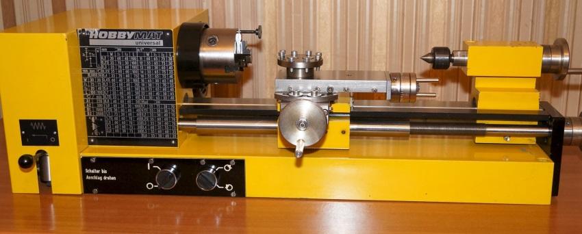 В домашних мастерских на ряду с б/у станками производства СССР часто используют учебные станки импортного производства