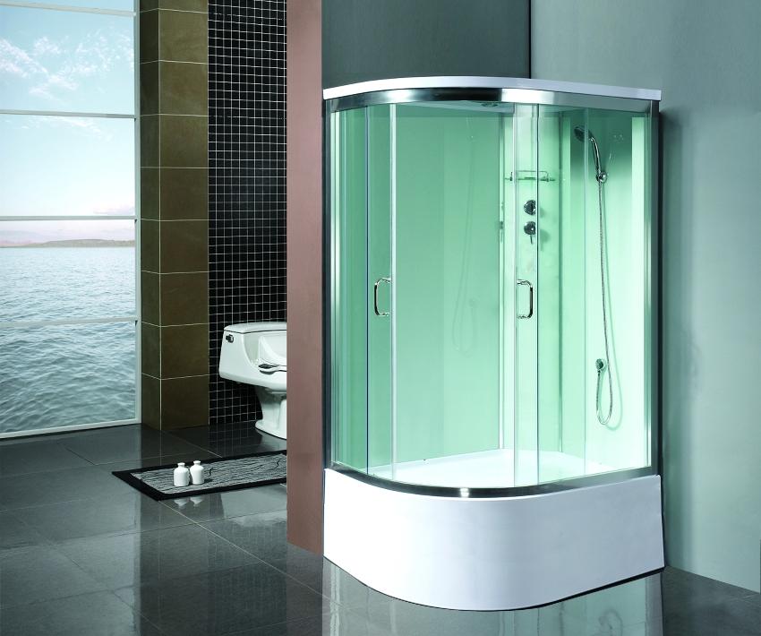 Коллекция душевых кабин Roco от европейского производителя, специально разработана для ванных комнат большого размера, является верхом совершенства и изысканного стиля