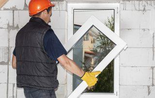 Установка пластиковых окон в кирпичных, панельных и деревянных домах