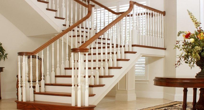 Деревянные лестницы и балясины в СПБ - VK
