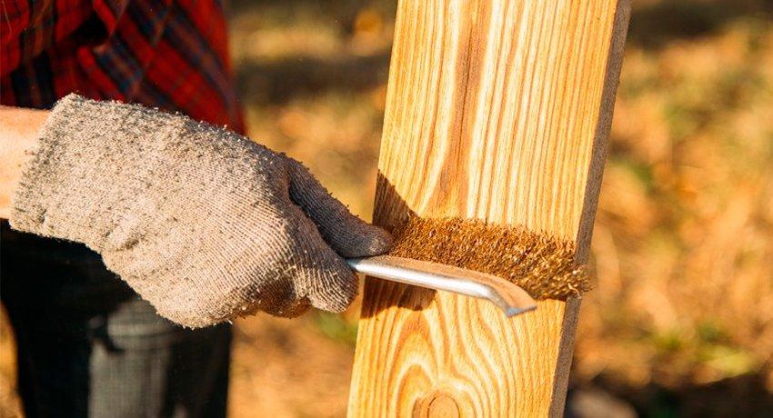 Щетку для браширования нужно подбирать в зависимости от твердости породы и предполагаемого объема работы