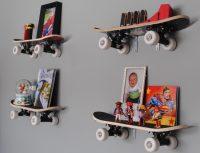 Креативная идея для оформления стен в комнате мальчика