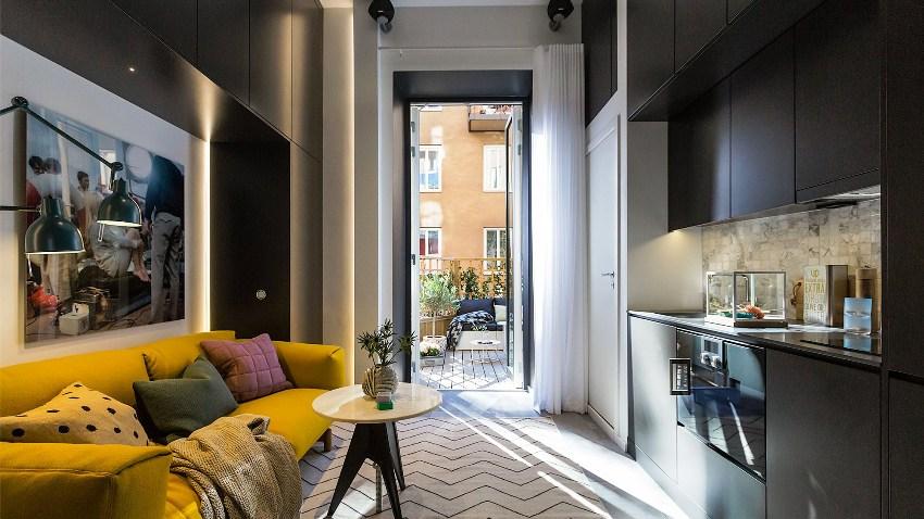 Правильный дизайн однокомнатной квартиры поможет скрасить недостатки скромного по площади жилья и подчеркнет его достоинства