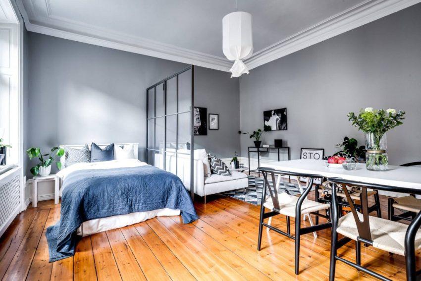 Планировка однокомнатной квартиры, чаще всего, представляет собой довольно сложную задачу, потому как, на небольшой площади нужно разместить все необходимое