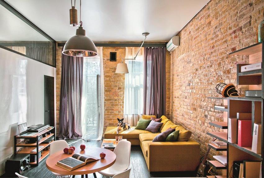 Главное в однокомнатной квартире — визуальное расширение существующего пространства и разделение его на зоны