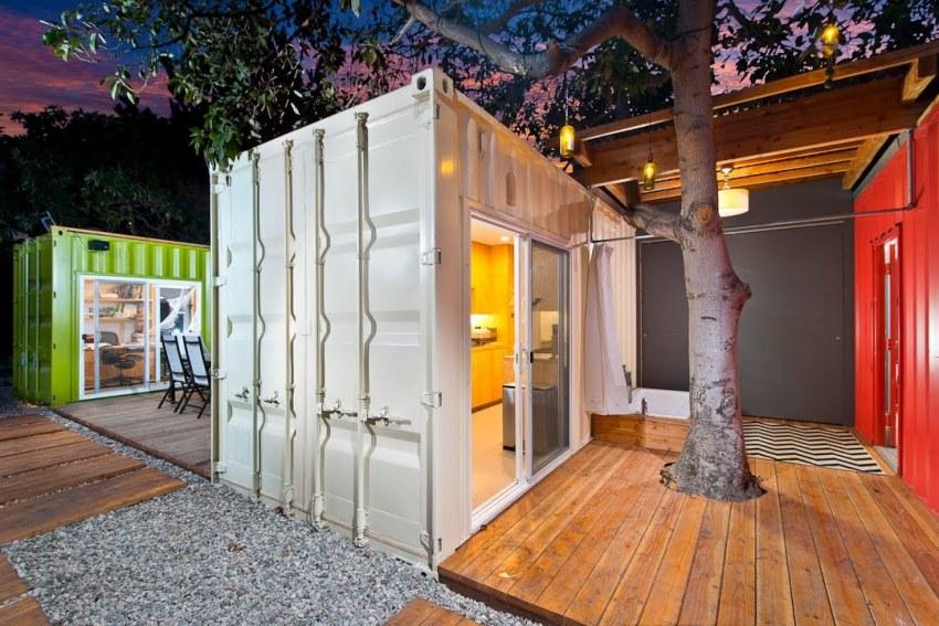 Контейнерный дом можно в любое время увеличить, просто добавив один или несколько блоков
