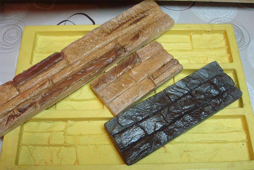 Изготовленная форма для искусственного камня своими руками – это прекрасный способ сэкономить на строительных облицовочных материалах