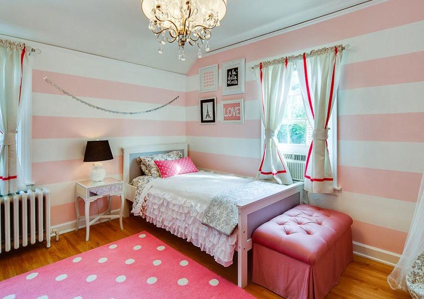 Именно пастельные тона – нежно-розовый, персиковый, светло-бежевый, способны создавать в помещении умиротворенную, спокойную обстановку
